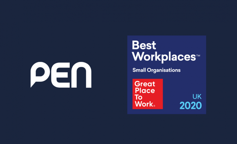 "PEN named ""Best Workplace"" in the Great Place to Work Awards"